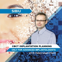 CBCT Implantation Planning (only for Advanced Implantologists)