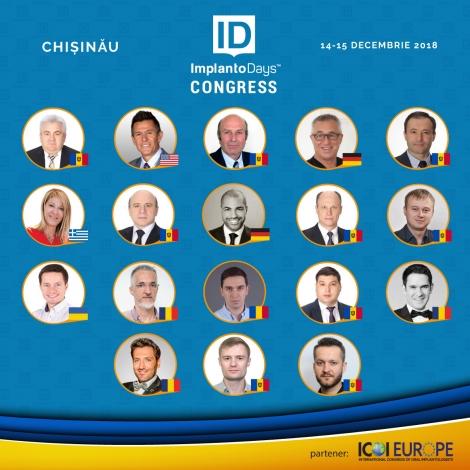 Congresul ImplantoDays 2018 Chisinau