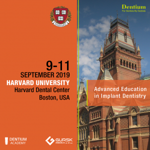 Dentium Europe with Harvard in  2019