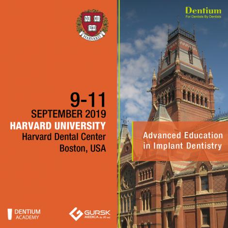 Dentium Europe with Harvard in  2019
