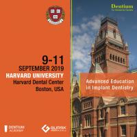 Advanced Education Program  2019 - Dentium Europe & Harvard  University