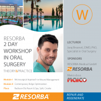 RESORBA - Workshop in oral surgery