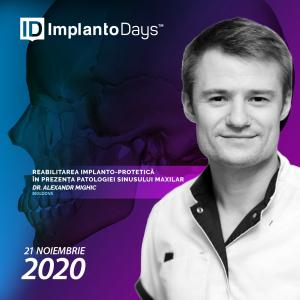 Reabilitarea implanto-protetică în prezența patologiei sinusului maxilar