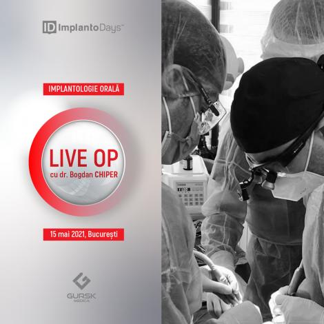 Implantologie Orală (LIVE-OP-uri)