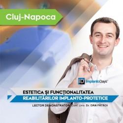 Estetica și Funcționalitatea Reabilitărilor Implanto-Protetice Cluj-Napoca