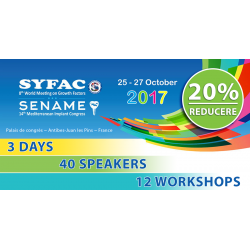 Syfac & Sename (14th Mediterranean Implant Congress)